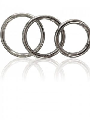 MANBOUND METAL COCK RING 3PAK-500x500