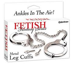 FETISH FANTASY SERIES METAL LEG CUFFS
