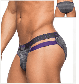 Cut Out Bikini – Gray