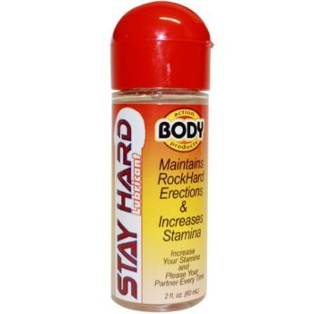 Body Action Stay Hard Lubricant (2.3oz)