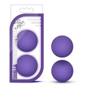 Luxe Double O Beginner Kegel Balls Purple